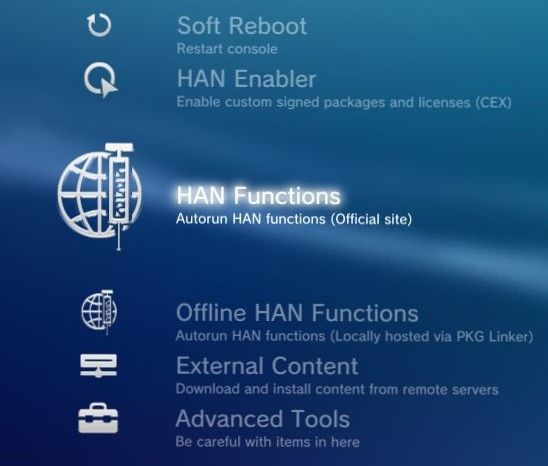 PS3 - HAN Toolbox v0 5 - New Release adds new Debug Setting