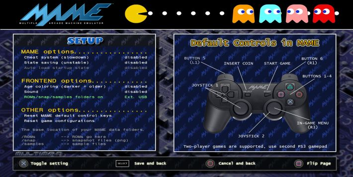 PS3 - A new Front-end for PS3 MAME 0 125 by comango | PSX-Place