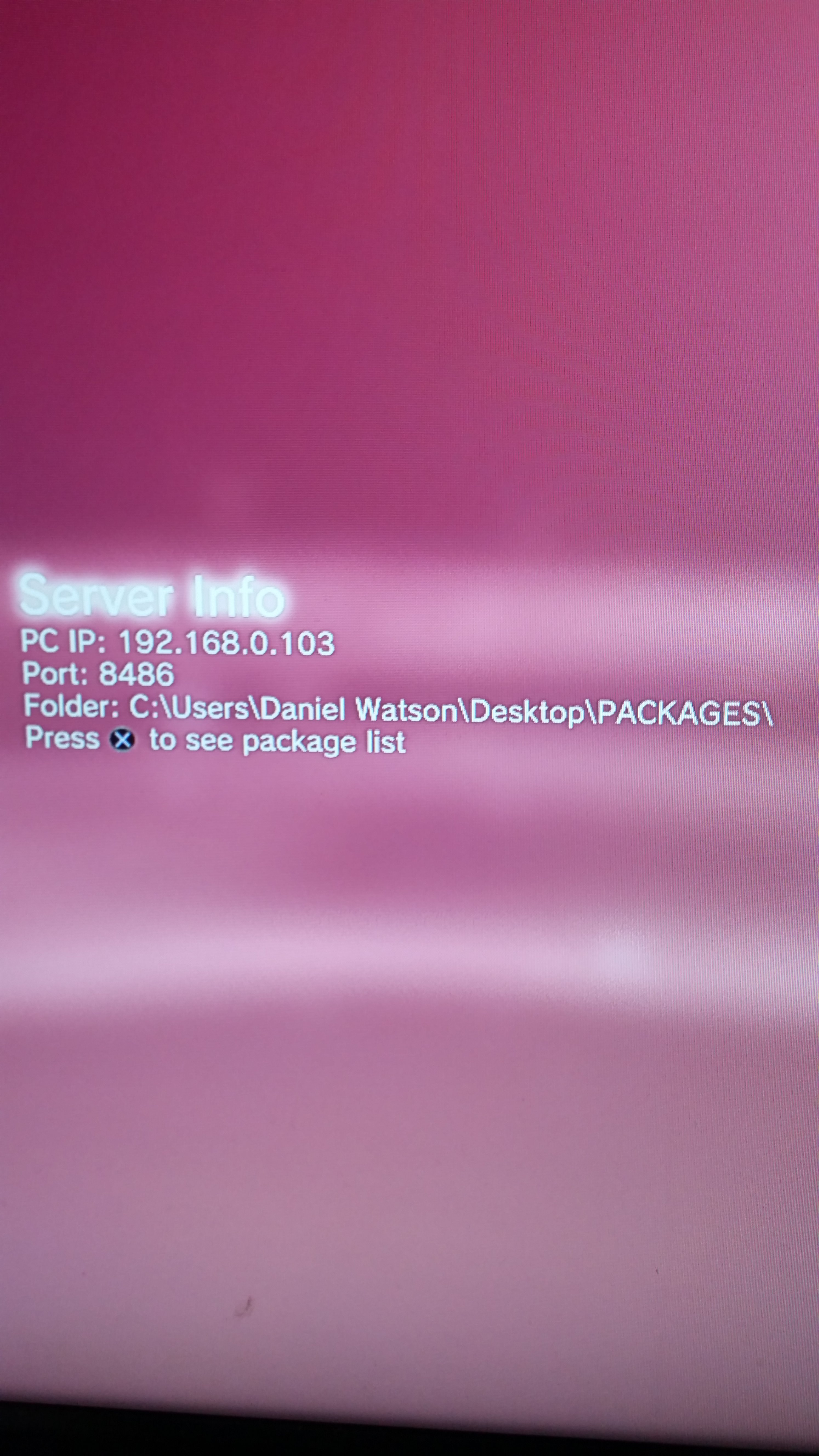 PS3 - PKG Linker 2 0 - Serve Packages to your PS3 (HAN/CFW