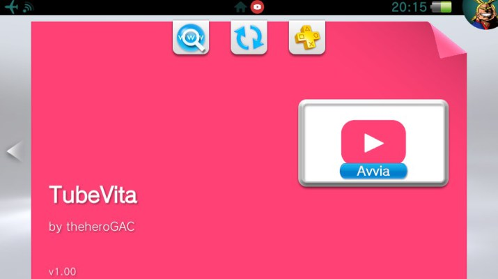 PS VITA / PS TV - TubeVita v1 02 [by thehero_]