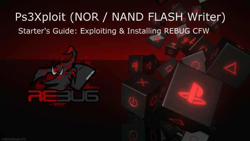 PS3 - Ps3Xploit - An Expert's Guide from OFW to CFW (by