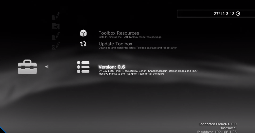 PS3 HAN - (Update) HAN Toolbox v0 6 Released (by