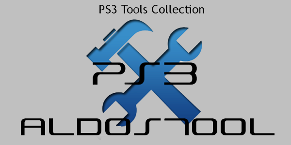 PS3 - Mirrors of Aldostools Tools / Apps / Utilities