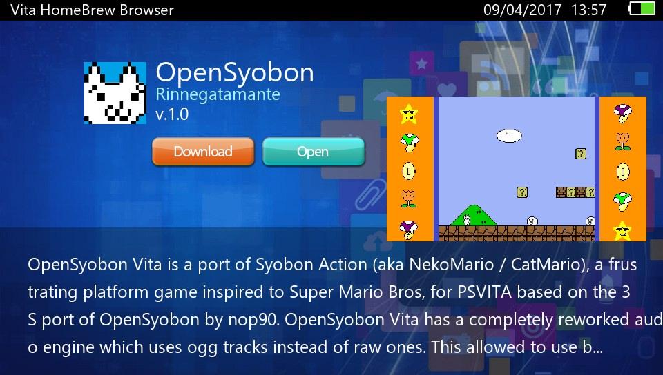 PS VITA / PS TV - Vita Homebrew Browser v0 8 ( by devnoname120