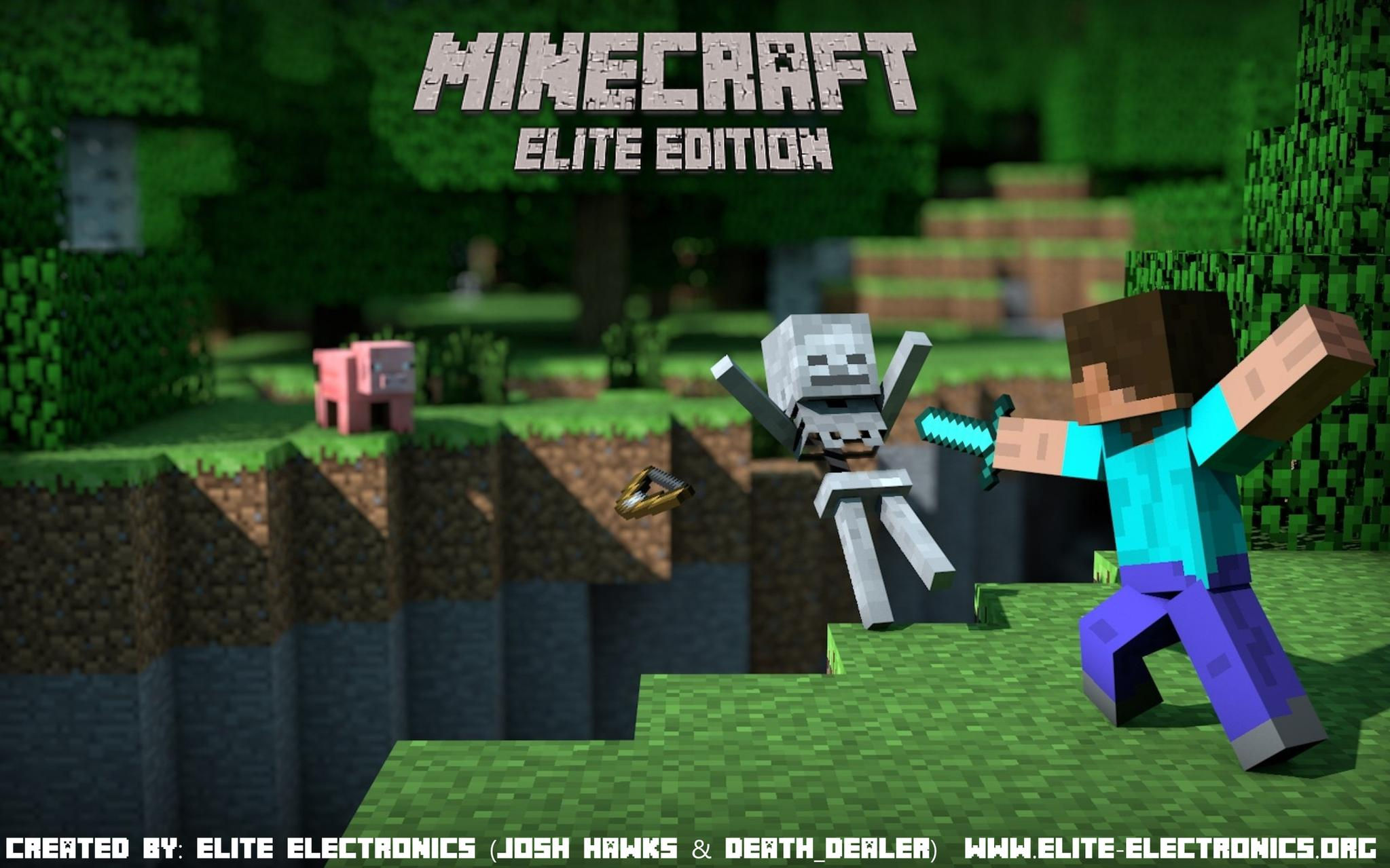 PS Minecraft Elite Edition V By Elite Electronics PSXPlace - Minecraft trophae spiele 100 tage