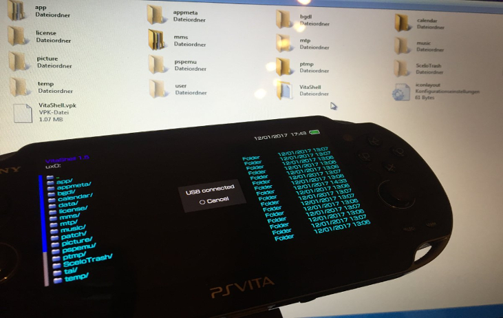 PS VITA / PS TV - VitaShell 1 50/1 51 Released by TheFl0w