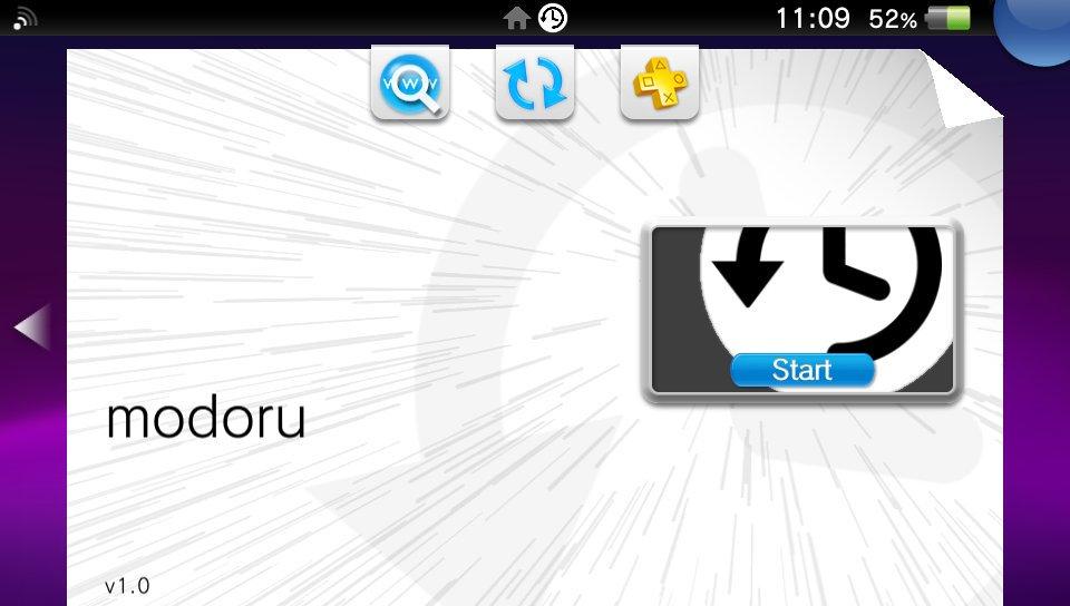 PS Vita / Ps TV - Modoru (1 0v) - PSVITA/PSTV - Downgrader