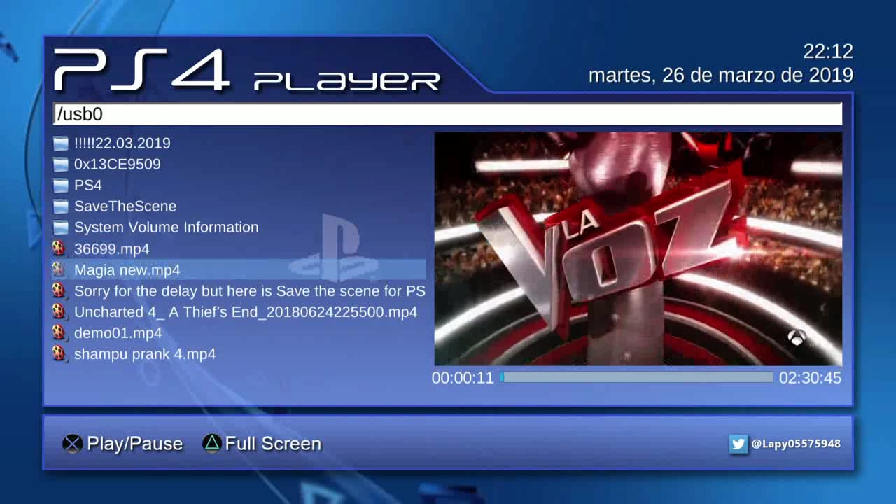 Ps4 Media Player Pkg