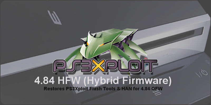 PS3 - (Update) PS3 HFW (Hybrid Firmware) 4 85 1 - PS3Xploit