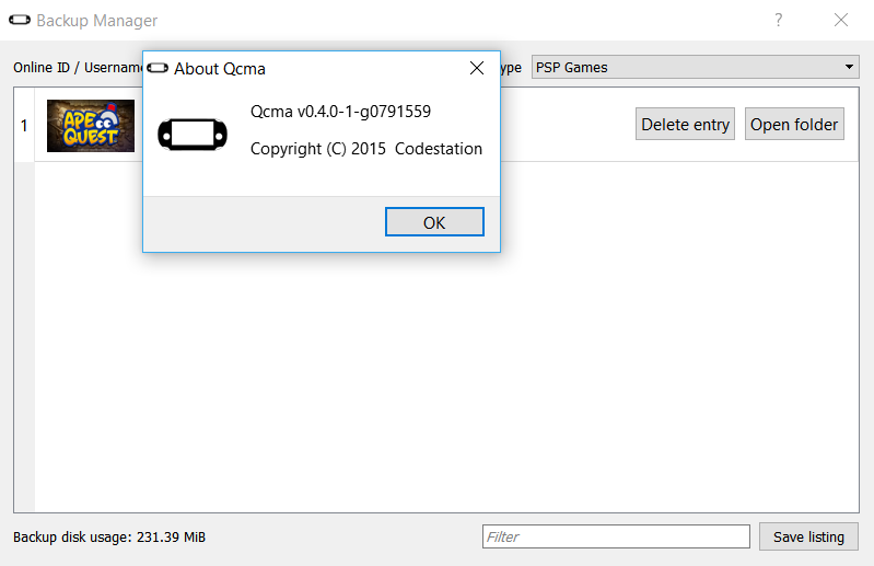 PS VITA / PS TV - [Update v0 4 1] Qcma v0 4 0 released | PSX