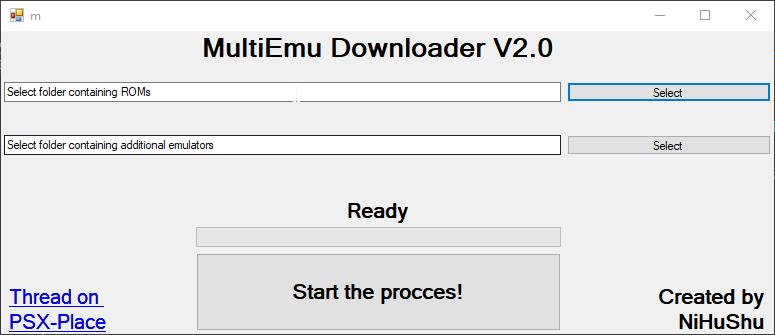 PS3 - MultiEmu Downloader - Automatically Download Emulators