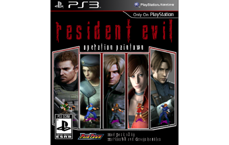 PS3 - Resident Evil Operations (Paintown Mod) : Re-Released