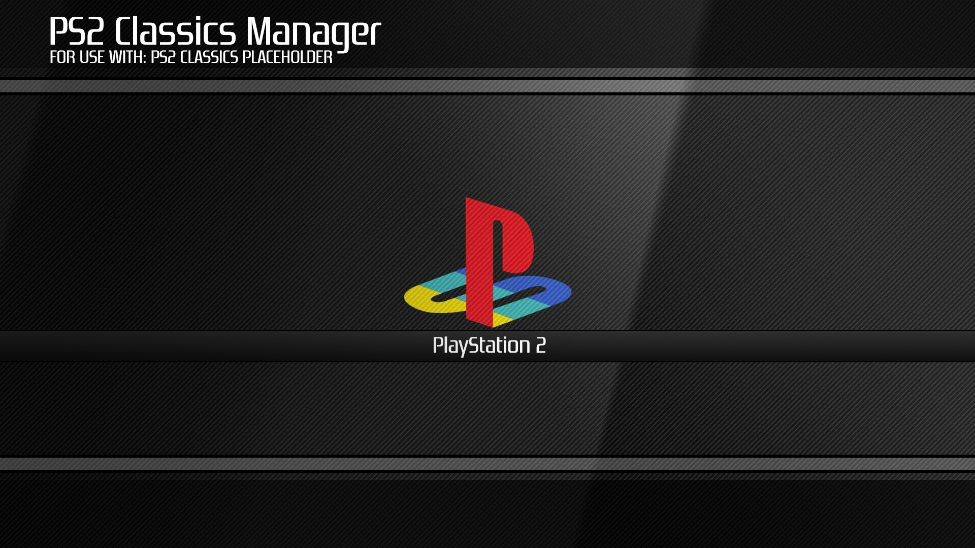 PS2 Classic Manager (& Placeholder) for PS3 by Captain CPS-X | PSX-Place