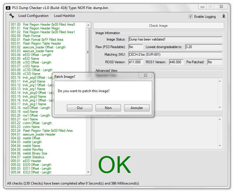PS3 - PS3DumpChecker (Build 487) updated by littlebalup