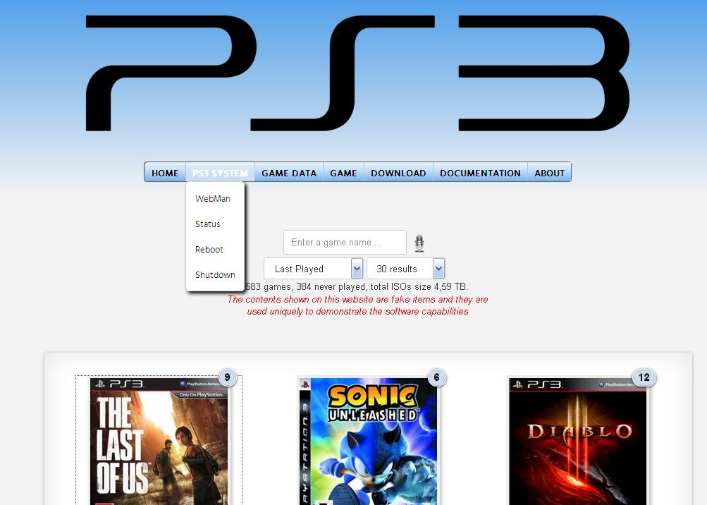 how to put downloaded games on ps3