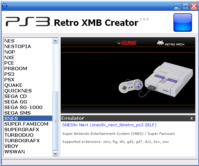 PS3 - RetroXMB Creator | PSX-Place