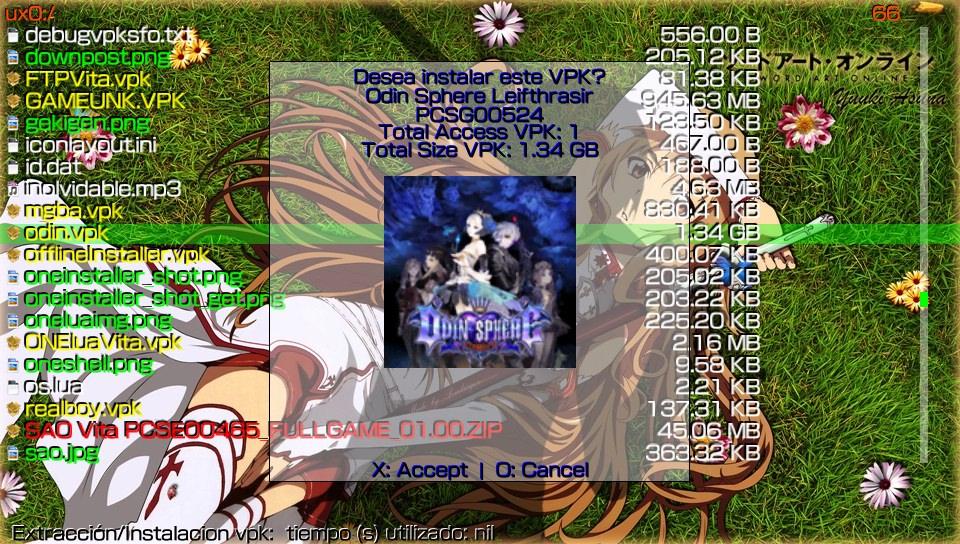 PS VITA / PS TV - ONElua VITA - Lua interpreter from PSP ported to