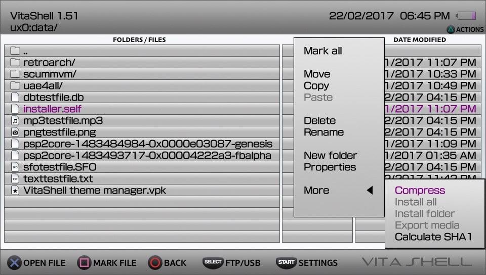 PS Vita / Ps TV - VitaShell v1 95 | PSX-Place