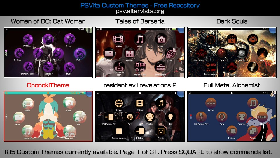 Content manager inside ps vita updated? Wololo. Net/talk.