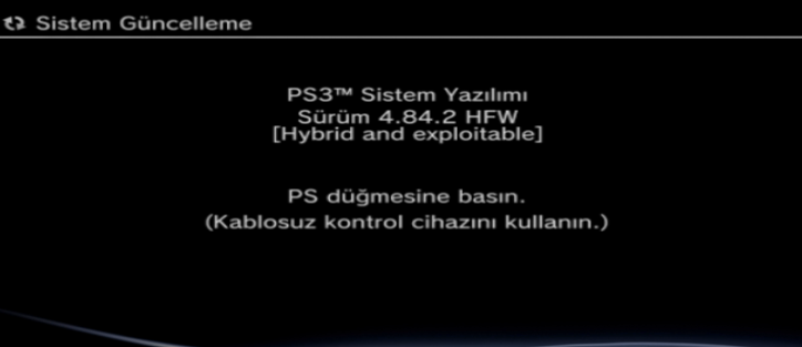 PS3 - (Update) PS3 HFW (Hybrid Firmware) 4 84 2 - PS3Xploit HAN
