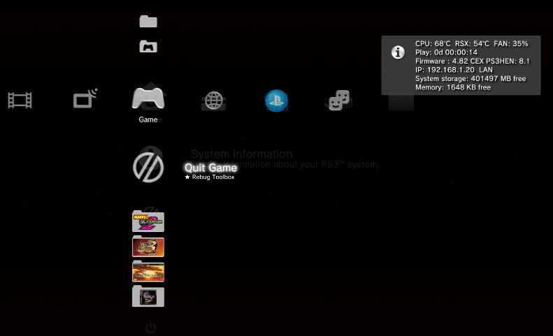 HEN 2 01 con web man integrado para OFW 4 82 !!!! en PlayStation 3