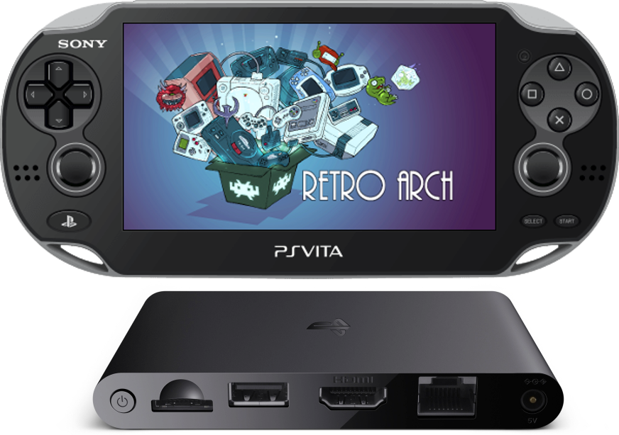 PS VITA / PS TV - RetroArch v1 6 3 - Vita Port adds Cheevos