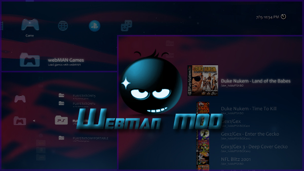PS3 - [UPDATED 3-3-19] webMAN MOD 1 47 09 - 4 84 CFW (CEX) Support